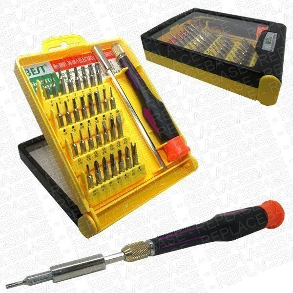 A complete tool set to maintain and repair a huge range of devices