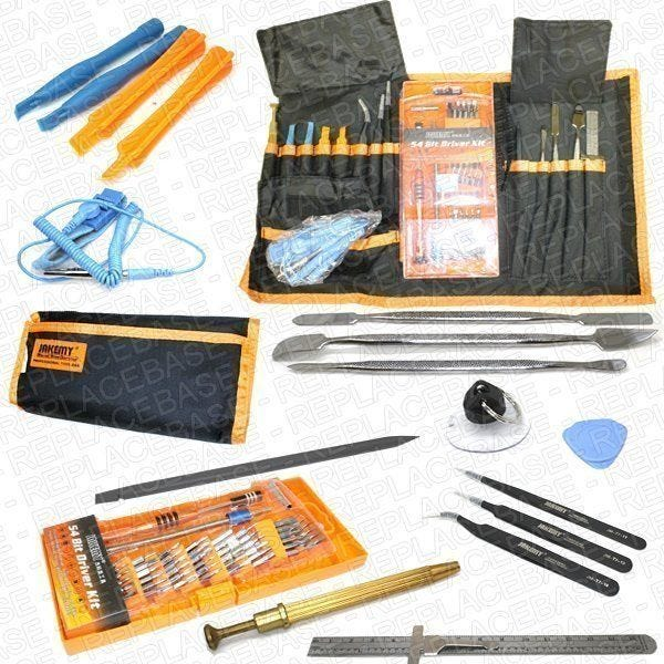 Includes all tools required for just about any job required, compete with a handy roll-mat