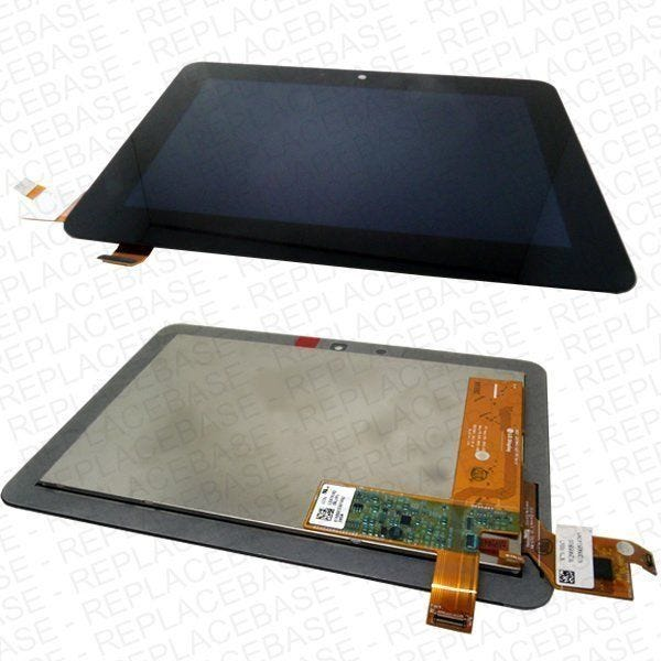 """Replacement front LCD and digitizer / touch screen for Kindle Fire HD 7"""" - Complete assembly"""