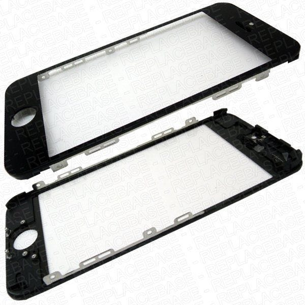 Gorilla Glass with fingerprint resistive coating and is pre-bonded to the framePart: iPhone 5s glass panel assembly