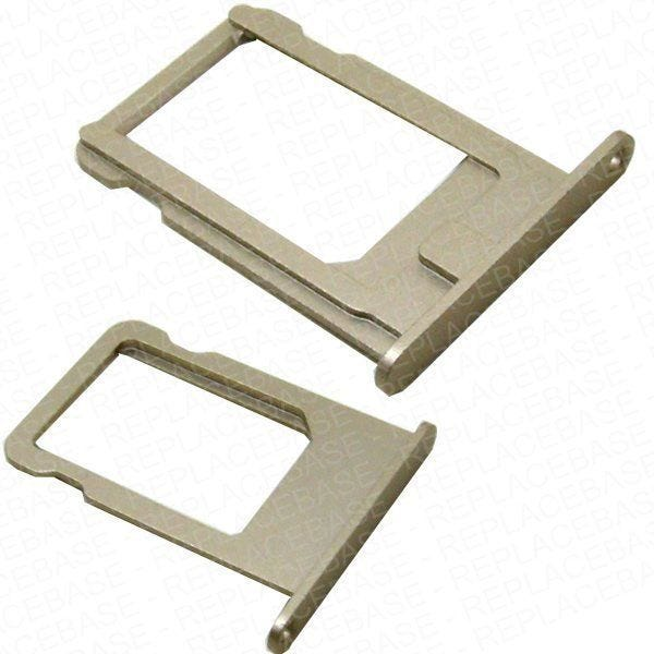 Original quality SIM card tray for the iPhone 5s, using the same anodised metal as the original with perfect colour match