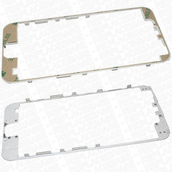 iPhone 6 LCD frame, this is the frame that the LCD / digitizer assembly secures to and also the externally visible plastic bezel between the glass and metal rear housing.