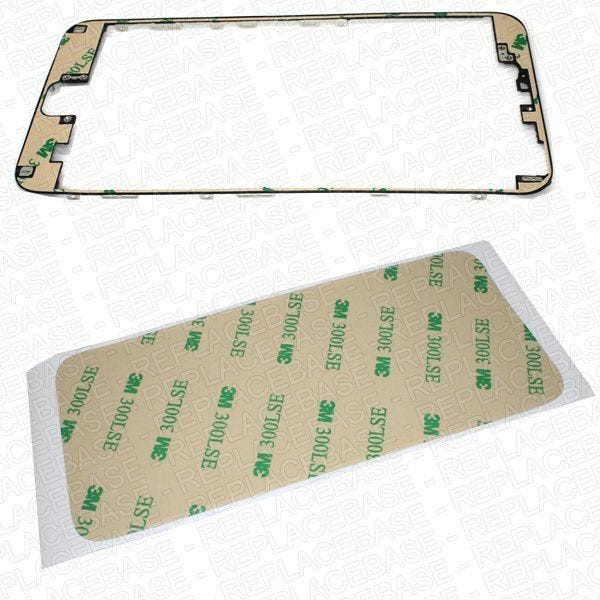 Adhesive is designed to bond the LCD assembly to the LCD support frame