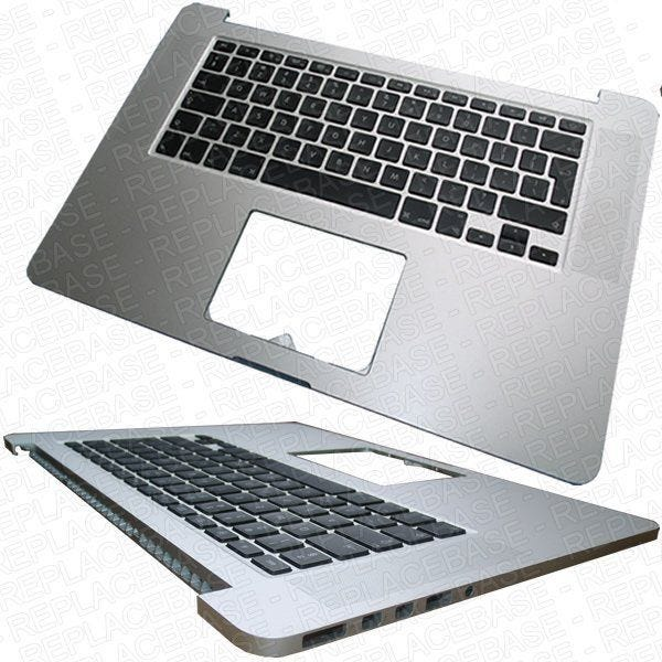 Original Apple Macbook Pro A1398  Mid 2012 / Early 2013 top cover, includes UK keyboard and LED keyboard back lights