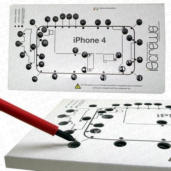 Designed and manufactured in Italy The Dottorpod iScrews ensures you will never get your iPhones screws mixed up