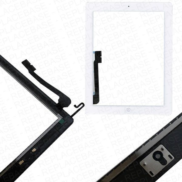 Oem apple ipad 4 retina touch screen glass digitizer complete assembly