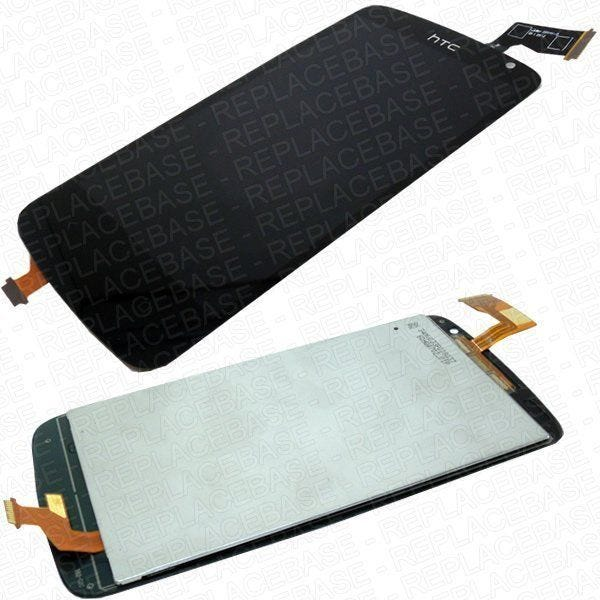 HTC Desire 500 Touch screen / digitizer with LCD attached - complete replacement.