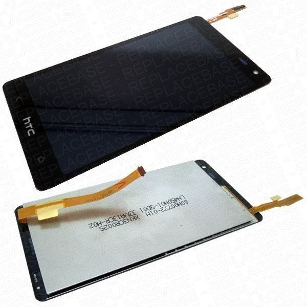HTC Desire 600 Touch screen / digitizer with LCD attached - complete replacement.