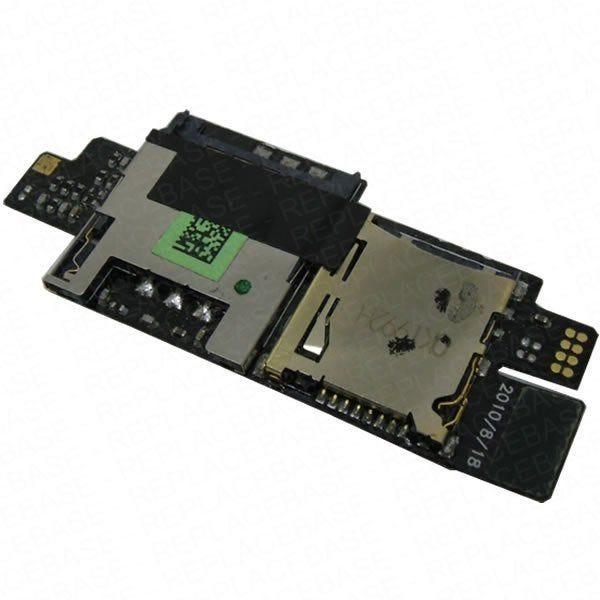 Desire HD SIm and SD card board - P/N: 50H20339