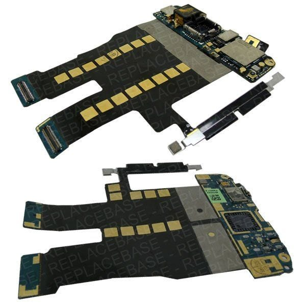 Desire main flex cable, includes buttons and camera mount