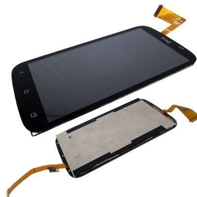 Replacement front LCD and digitizer / touch screen for HTC Desire X - Complete assembly - 60H00708