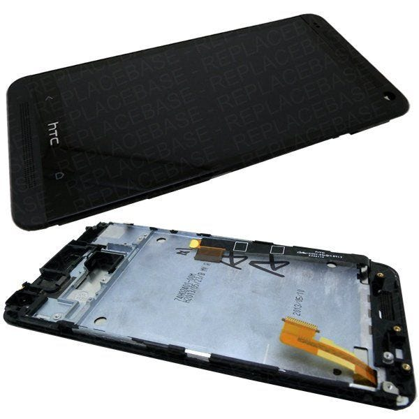 Replacement front LCD and digitizer / touch screen with SIM card reader included