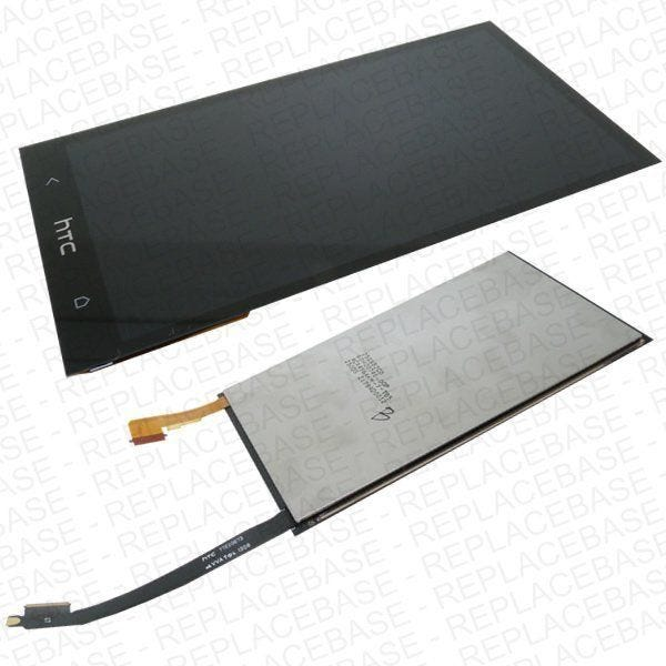 Replacement LCD assembly - To fit all versions and colours of the HTC ONE