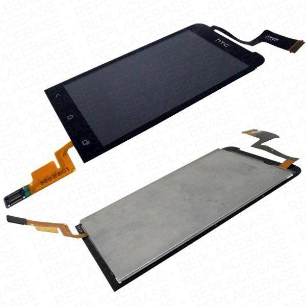 Replacement front LCD and digitizer / touch screen for HTC ONE-V - Complete assembly - 60H00673