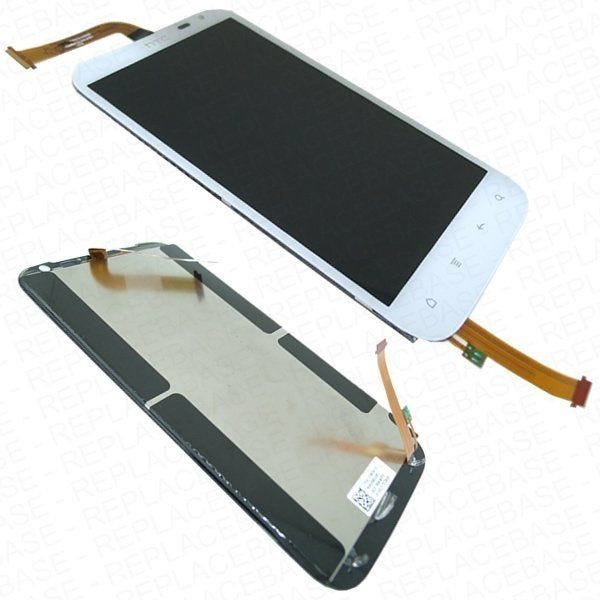 Replacement front LCD and digitizer / touch screen for HTC Sensation XL - Complete assembly with light guides