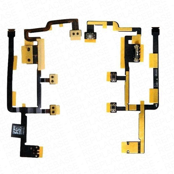 Apple iPad 2 replacement cable included power button, volume buttons and mute switch - with adhesive APN: 821-1461