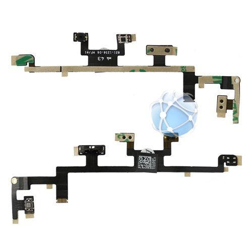 New Apple iPad replacement internal button cable with power button, volume buttons and mute switch - P/N: 821-1256