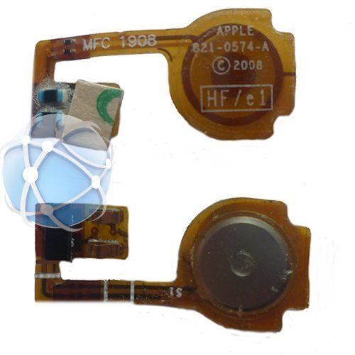 Apple iPhone 3GS internal replacement home button flexible cable - APN: 821-0789