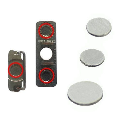 2 x Volume button spacers and 1 x Power button spacer