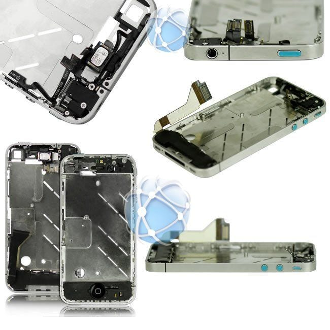 Apple iPhone 4 Replacement Full Chassis Assembly With Internal Components