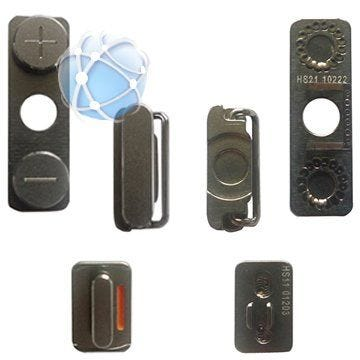 iPhone 4 Replacement Power Button, Mute Switch And Volume Rocker Buttons