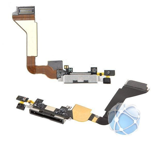 iPhone 4 Replacement Dock Connection Cable With Microphone - APN: 821-1093