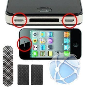 iPhone 4 Replacement Earpiece And Speaker Metal Grill Mesh