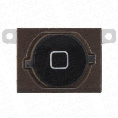 iPhone 4s Replacement Plastic Home Button with spacer and rubber