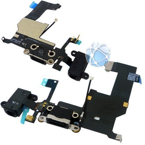 iPhone 5 replacement dock assembly with headphone jack and microphone P/N: 821-1417
