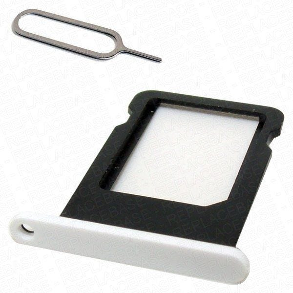 iPhone 5c replacement SIM tray with SIM card eject tool