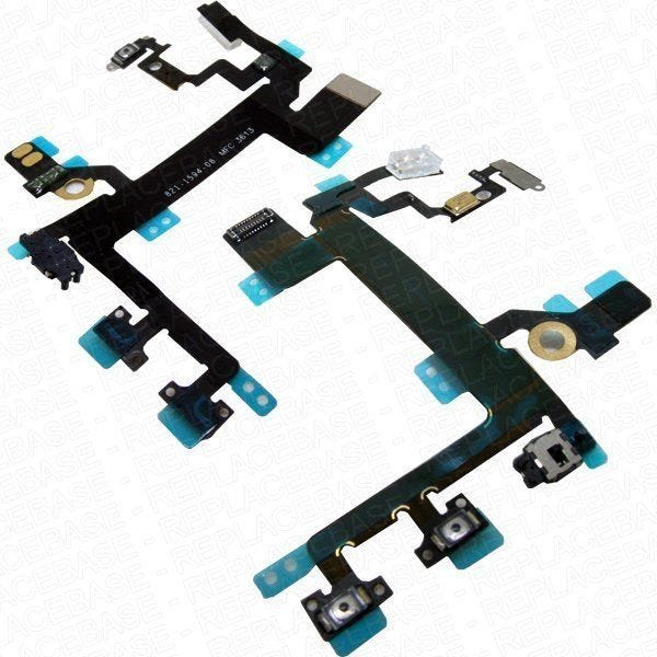 iPhone 5s replacement internal button cable - Apple Part Number: 821-1594