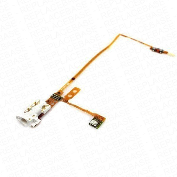Apple iPod Nano 5th generation replacement headphone socket cable with hold switch