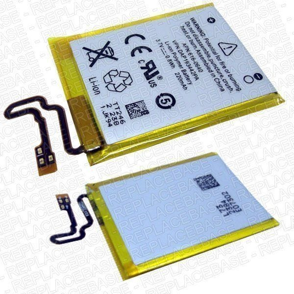 Apple iPod Nano 7th generation replacement battery pack - APN:  616-0640