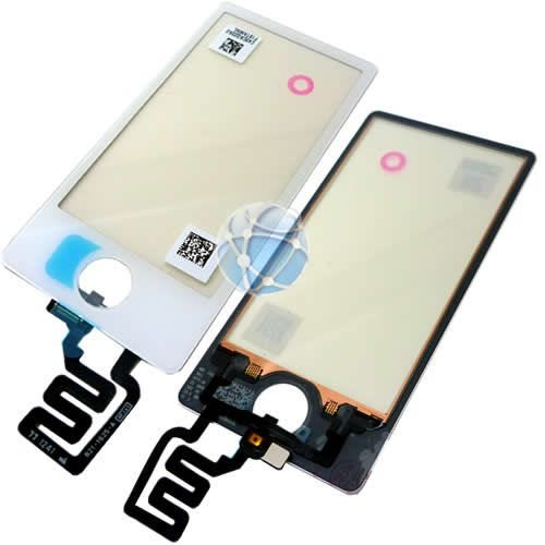 Apple iPod 7th generation replacement digitizer with home button - White - APN: 821-1625