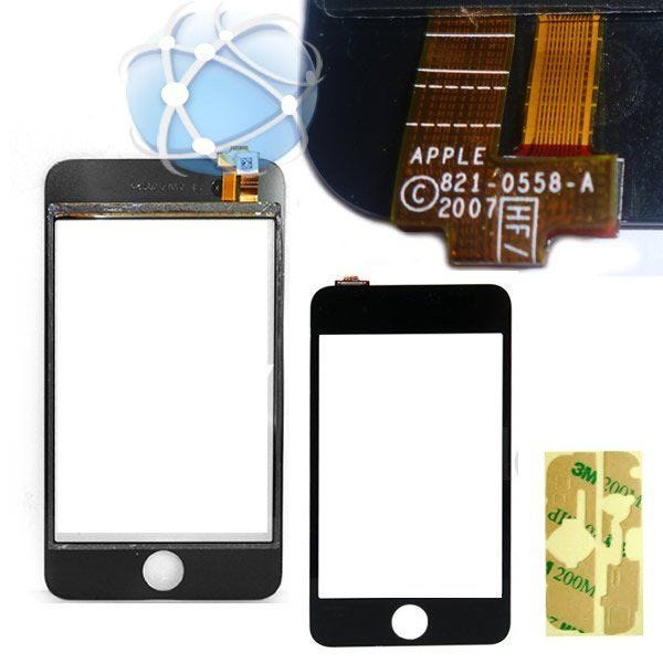 Apple iPod Touch 1st generation replacement glass digitizer panel - APN: 821-0558
