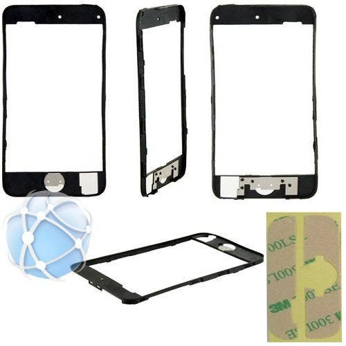 Apple iPod 2nd generation replacement middle frame with rubber gasket / seal pre-bonded - with adhesive