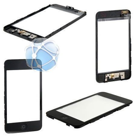 Apple iPod Touch 2nd generation replacement front assembly, Touch screen, middle frame and home button pre-assembled and ready to fit