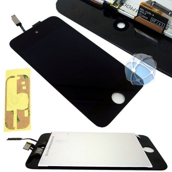 Apple iPod Touch Screen 4th Generation Replacement Front LCD and Glass Digitizer Assembly - APN: 821-1125 and APN: 821-1174