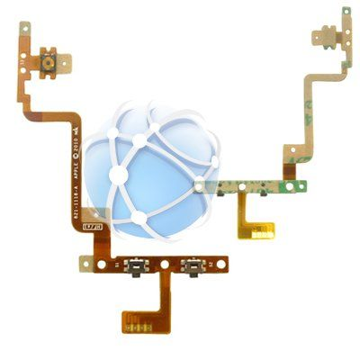 Apple iPod Touch 4th generation replacement internal volume buttons, power button and hold switch cable - APN: 821-1118