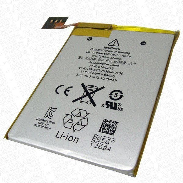 Original Apple replacement battery, Apple part number 616-0619