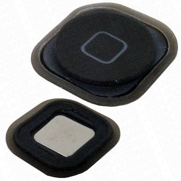 Touch 5G home button with metal dist, rubber seal and adhesive