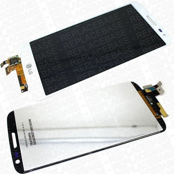 Original LCD Assembly for the LG G2 Mini, includes the outer glass, touch screen and LCD panel
