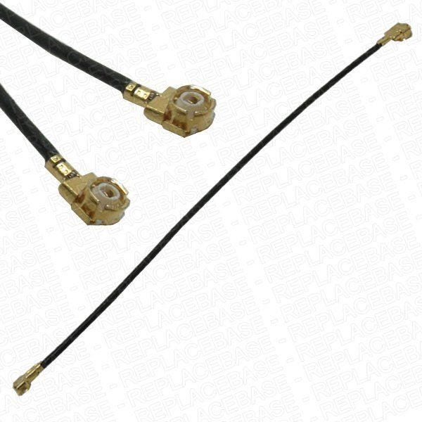 This cable connects the co-axial connectors between the dock flex and the main logic board.
