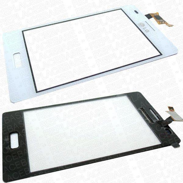 Original LG Optimus L5 E610 touch screen / digitizer panel with bonding adhesive