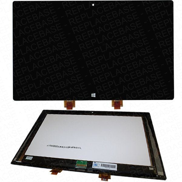 Original Microsoft Surface RT LCD assembly, assembly includes the Touch screen / digitizer with LCD panel bonded in place - ready to fit
