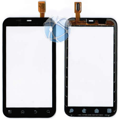 Motorola Defy replacement front glass touch panel