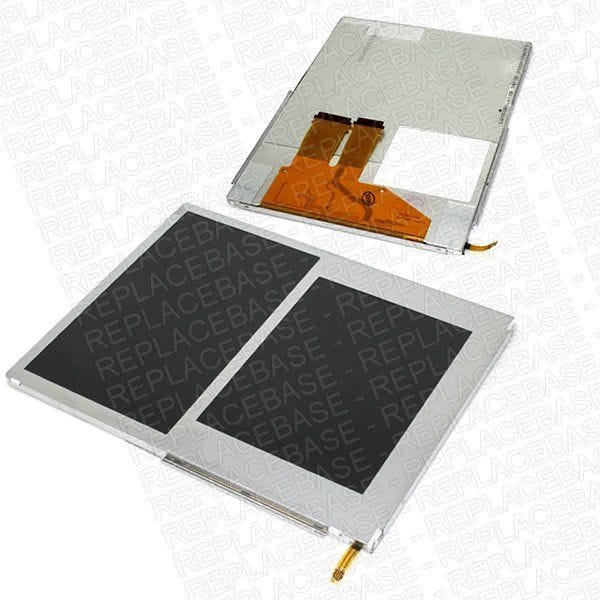 Original Nintendo 2DS replacement LCD assembly, panel includes both the top and bottom LCD display.