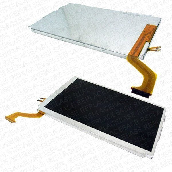 Original Nintendo 3DS XL replacement top LCD screen, no soldering required - includes back-light.