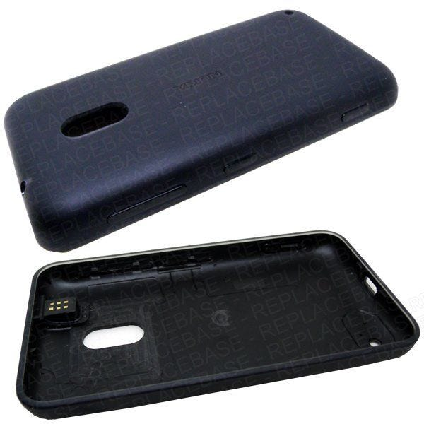 Original Nokia 620 battery cover, includes headphone jack / socket