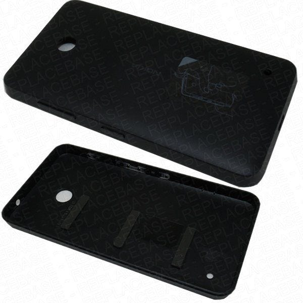 Original Nokia 635 battery cover with buttons
